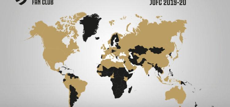 ۶۹ کانون هواداری باشگاه فوتبال یوونتوس در کشور های مختلف