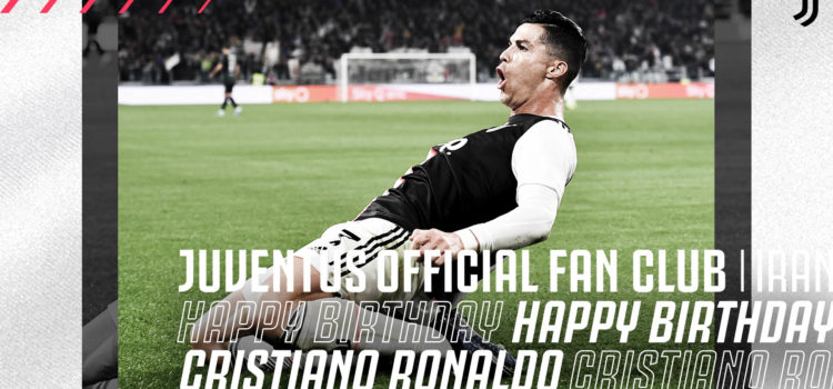 تولدت مبارک، کریستیانو!