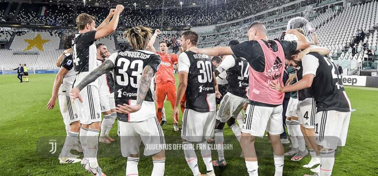 جشن قهرمانی در زمین بازی