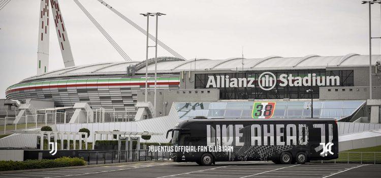 اتوبوس جدید تیم اول