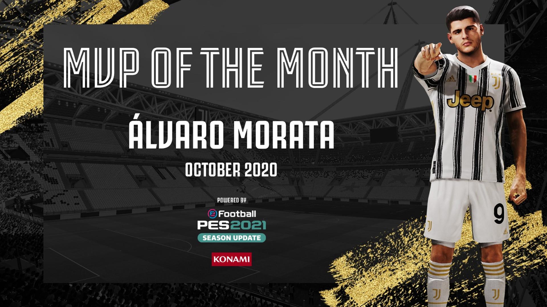 رونالدو و موراتا، بهترین بازیکن ماه سپتامبر و اکتبر