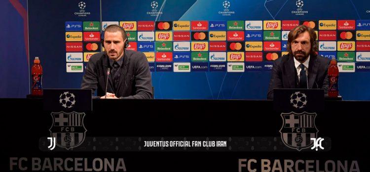 کنفرانس خبری قبل از بازی با بارسا